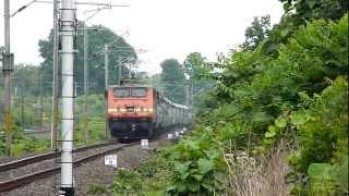 WAP-4 Patna-Secunderabad shows aggression!!