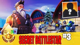 Secret Week 3 Battle Star Location Guide in Fortnite // FREE Battle Pass Tier in Season 7