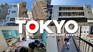 Gambar cover Review Penginapan di Tokyo - Room tour Tokyo apartment via Airbnb , Edogawa    / Awi Willyanto
