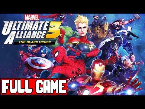 MARVEL ULTIMATE ALLIANCE 3 THE BLACK ORDER Gameplay Walkthrough Part 1 FULL GAME - No Commentary