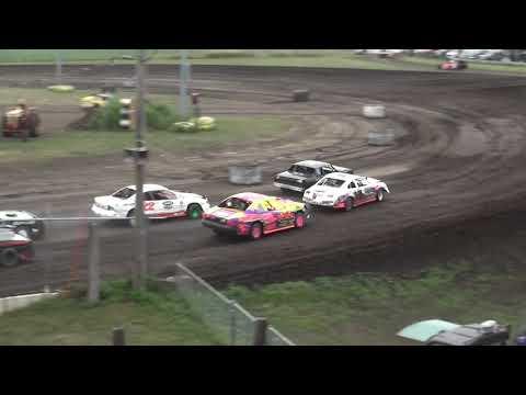 IMCA Stock Car Heats Benton County Speedway 7/28/19