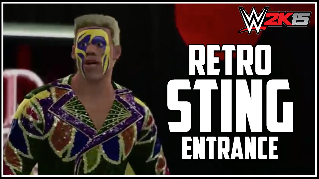 WWE 2K15 - Surfer Sting Entrance! (Pre-Order DLC) - YouTube
