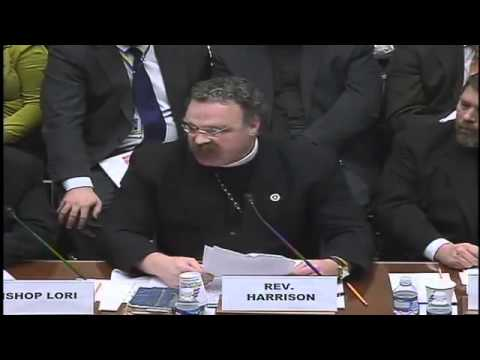 HERE I STAND - Rev. Harrison's Opening Statement Before House Oversight Committee