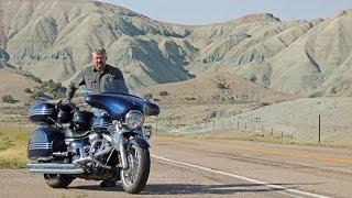 Motorcycle Ride from Idaho Falls, Idaho to Vernal, Utah.