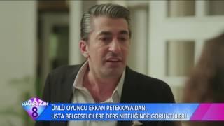 Ünlü Oyuncu Erkan Petekkaya'dan Usta Belgeselcilere Ders Niteliğinde Görüntüler