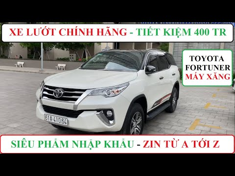 Toyota Fortuner Nhập Khẩu Máy Xăng Máy Móc Zin 100%,Cam Kết 100% Không Tai Nạn,Không Ngập Nước 870tr