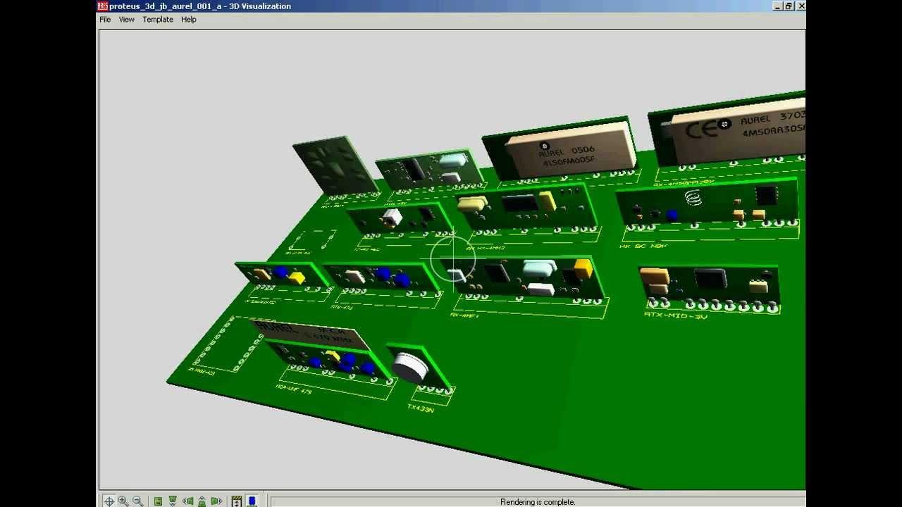 Circuito simulador + biblioteca RF para proteus