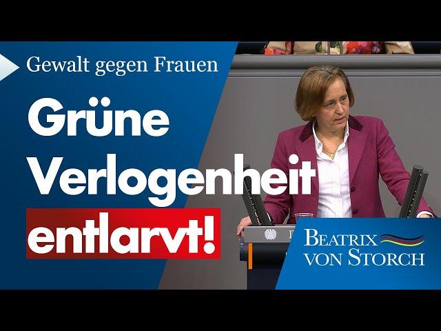 Beatrix von Storch (AfD) - Die Linksgrünen wollen Deutschland mit ihrem Kulturkampf kaputtmachen!