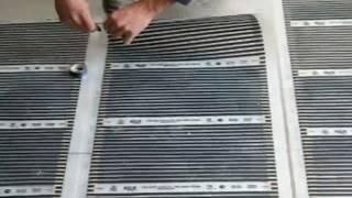 Монтаж тёплого пола, укладка кафеля в Запорожье(066)362-29-20. Installation of floor heating.