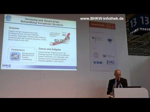 VDE/DKE Normungsroadmap zu E-Energy im Smart Grids Forum der Hannover Messe 2013