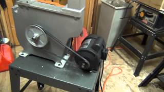 Ridgid Band Saw - Unboxing And Setup