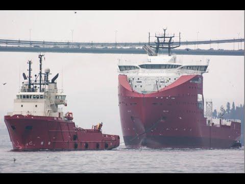 ShipSpotting Istanbul Strait - December 2015