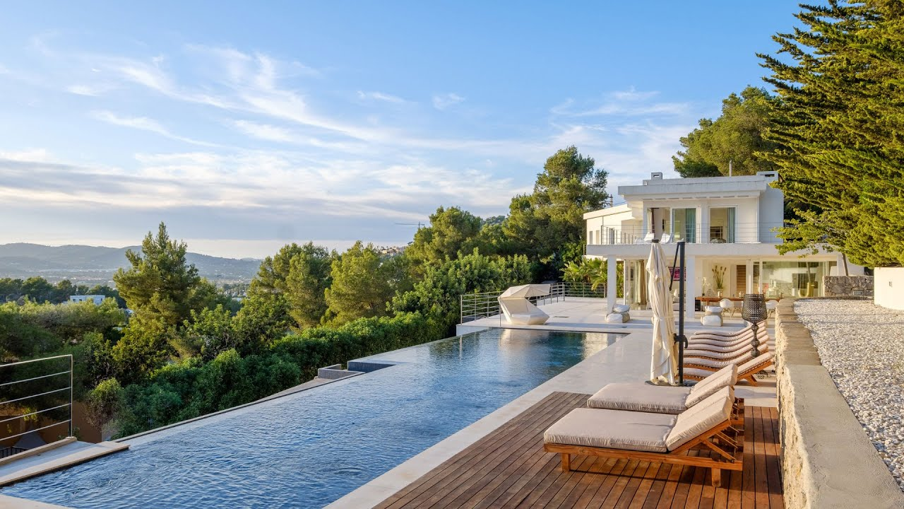 Luxury Villa With Private Pool Amp Stunnig View Of Ibiza In Ibiza Spain For Sale 10770895