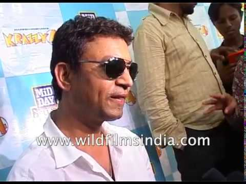 Indian Actor Irrfan Khan On His Character In 'Krazzy 4'