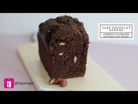 que-faire-avec-des-bananes-trop-mures-??-cake-chocolat-banane-/-frigo-magic
