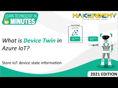 What is Device Twin in Azure IoT? (2021) | Learn Technology in 5 Minutes