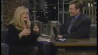 Bonnie Hunt on Conan 1996