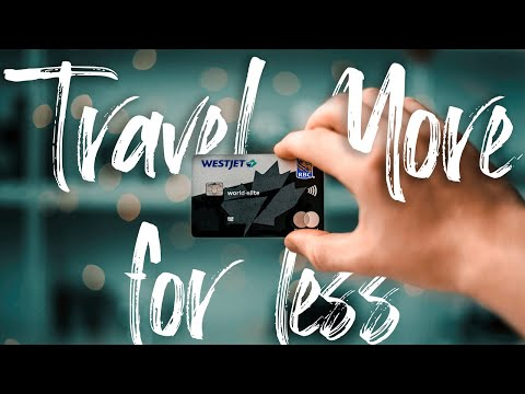BEST CANADIAN TRAVEL CREDIT CARD || WestJet World Elite Mastercard
