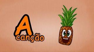 Alfabeto para crianças - A-Canção - O Alfabeto em português - cançãos infantis   Portuguese A-Song