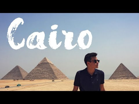 FIRST TIME IN EGYPT TRAVEL VIDEO!   Cairo, Giza Pyramids, Camel Ride  