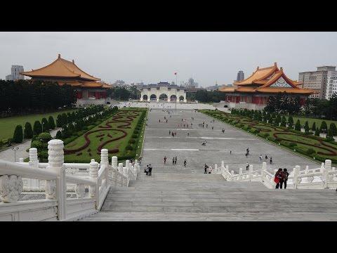 Taiwan Trip Day 2 of 8 Taipei sightseeing 自由廣場 國立故宮博物院 Taipei 101 Sony AX100 4K