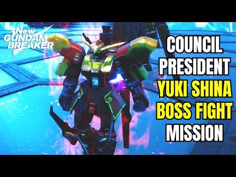 Yuki Shina Boss Fight - New Gundam Breaker Last Mission/ New Gundam Breaker Boss Fight  