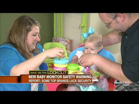Warning Over Internet - Based Baby Monitors [NEWS]