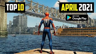 TOP 10 NEW ANDŔOID GAMES IN APRIL 2021 | High Graphics (Online/Offline)