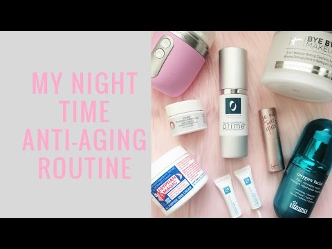 Anti-Aging Night Time Routine for 30 Somethings || Chatty chit chat Elle Leary Artistry