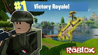 🔫😆EASIEST WIN IN ISLAND ROYALE| ROBLOX| *Died in storm*
