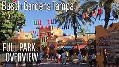 Busch Gardens Tampa FULL Park Overview