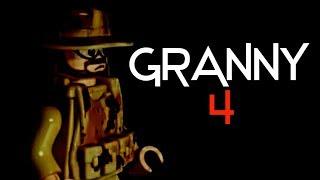 "LEGO Granny Part 4 ""Истина""   ЛЕГО Грэнни 4 часть ""Истина"" лего стопмоушен анимация 16+"