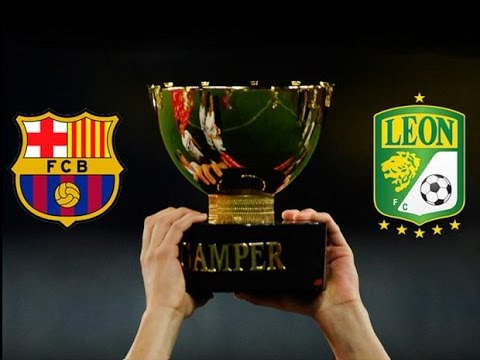 FC Barcelona vs Club León 6-0 All Goals & FULL Highlights (Trofeo Joan Gamper) 18/08/2014