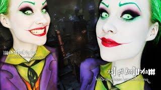 The Joker (Jack Nicholson Version) Makeup/Body Paint Tutorial thumbnail