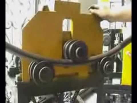 Arc And Circle Rolling Machine Youtube