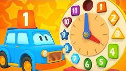 Opi numeroita Välkkyjen Autojen kanssa. Opettavaisia piirrettyjä lapsille. Numerot 1-12 lapsille.