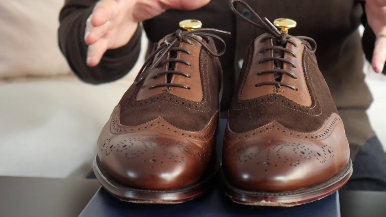 Loake Henry Belt Unbox - YouTube