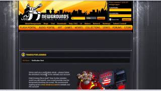 Newgrounds.com hesap n benim yaratıyor.n!
