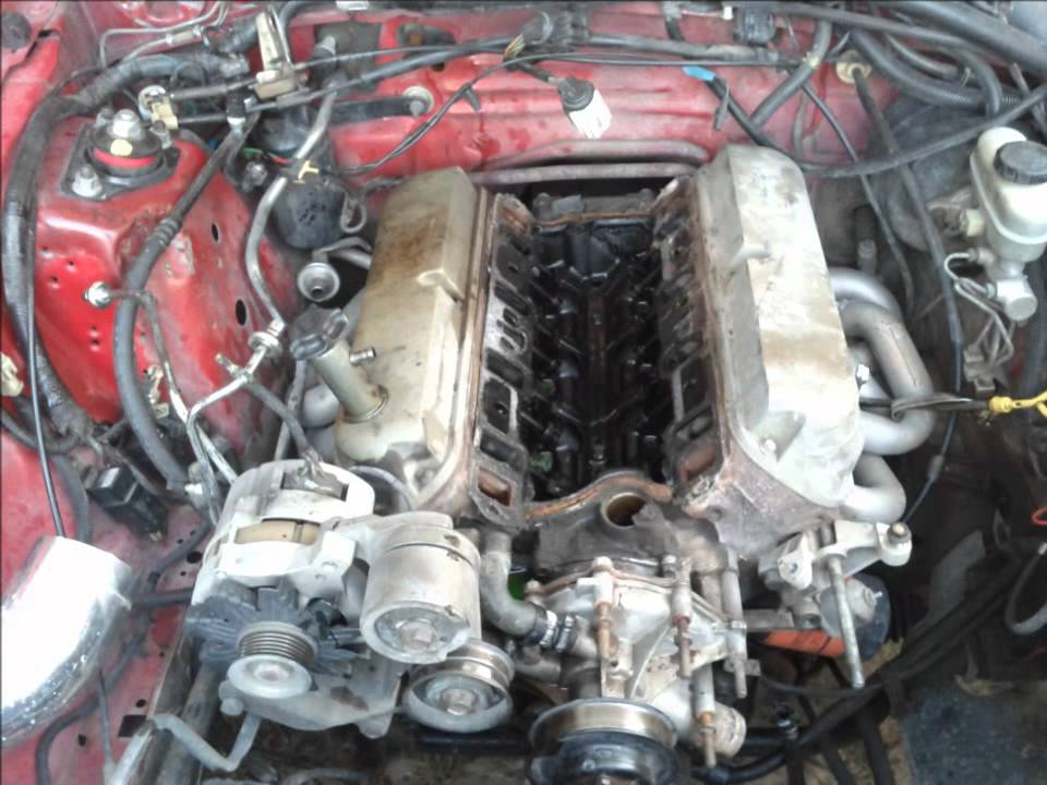 93 Mustang Gt Head And Cam Swap 5 0 Youtube