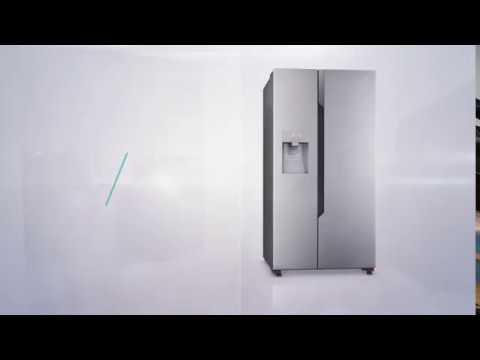 Side By Side Kühlschrank Angebot : ᐅᐅ】hisense rs n ac side by side kühlschrank für u ac statt