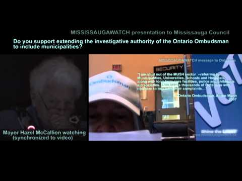 hazel-mccallion-and-mississauga-council-give-blogger's-ontario-ombudsman-deputation-the-bum's-rush