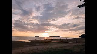 Download Matahari Terbenam...Pantai Tanjung Aru, Sabah