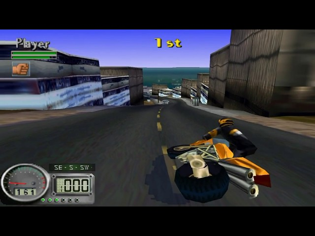 Road Rash 3D - Big Game - Final Race #Race 35