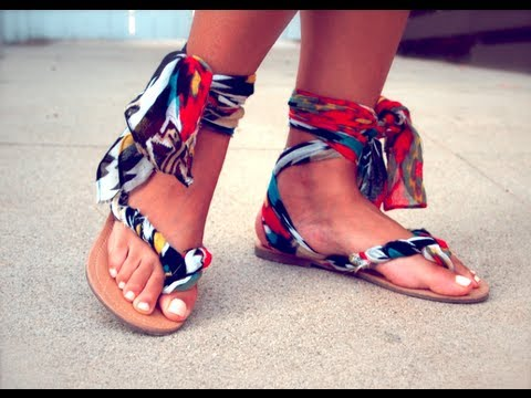 Quickie How To Gladiator Sandals Youtube