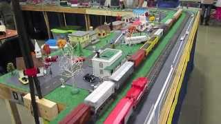 ACSG W and O.D. Freight Trains at Greenberg Train Show