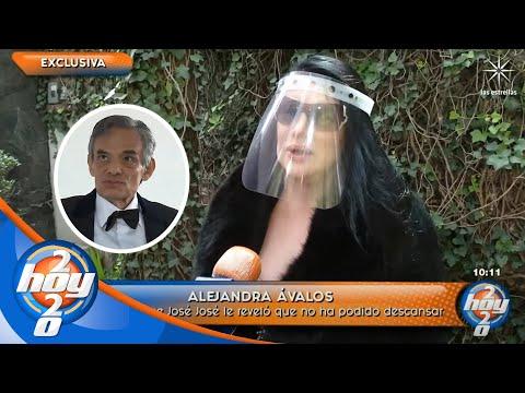 ¡Alejandra Ávalos afirma que logró hacer contacto con José José! | Hoy