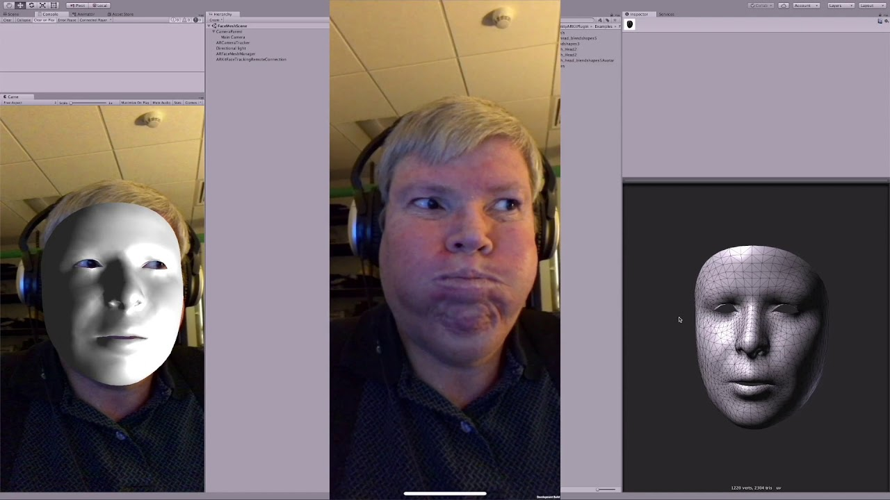 Arkit Face Detection