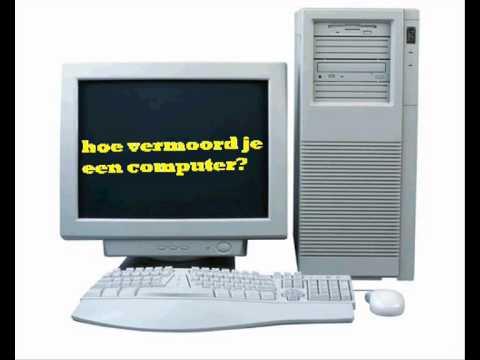 Spiksplinternieuw HOE MAAK JE EEN COMPUTER KAPOT? - YouTube JN-53