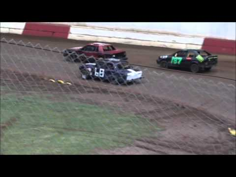 4 Cylinder racing at River City Speedway #1 (7-18-12) Womens Main #1