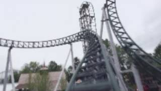 Untamed Front Seat on-ride HD POV Canobie Lake Park